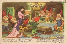 Snow White by Dutch illustrator Freddie Langeler