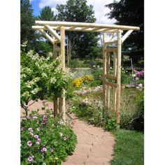 Our handcrafted white cedar log pergola is perfect for garden lovers. Buy this high-quality rustic garden arbor online today from Cedar Creek Furniture. Diy Pergola, Rustic Pergola, Wooden Pergola, Cheap Pergola, Pergola Ideas, Cheap Greenhouse, Greenhouse Ideas, Metal Pergola, Backyard Ideas
