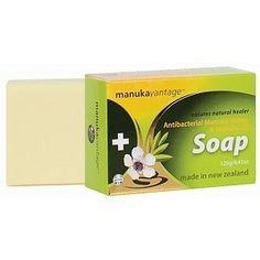 Antybakteryjne mydło z olejkiem Manuka – Manuka Oil Soap 135 g. | Kosmetyki naturalne Uroda www.thenaturefarm.pl