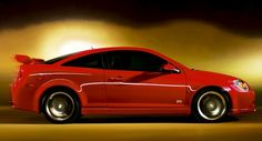 Red Chevy Cobalt 2007 -  I need the alarm fixed Suzie Q. REALLY bad. And tinted windows!