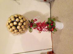 Ferrero rocher sweet tree!