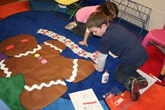 Mrs. Lee's Kindergarten: Gingerbread Activities and Centers