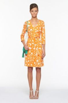 DVF | New Julian Two Dress In Marbled Rose Small Tango, Spring 2012: Beginnings