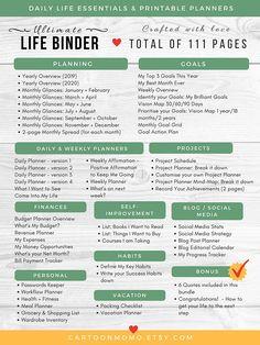 Planning Budget, Budget Planner, Goal Planning, Budget Binder, Mom Planner, Menu Planners, Monthly Planner, Planner Pages, Printable Planner