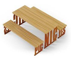 Artform Urban Furniture: Pic-Nic Picnic Table