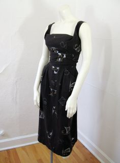 1950s Vintage Dress. Ever feel you were born in the wrong era?