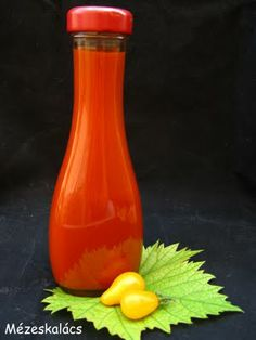 Mézeskalács konyha: Ketchup Ketchup, Jar Gifts, Kitchen Hacks, Spices, Homemade, Canning, Bottle, Automata, Red Peppers