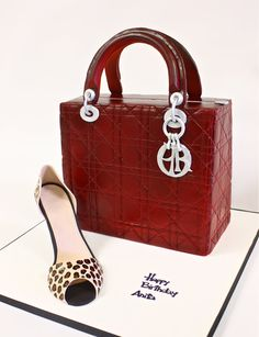 Lady Dior handbag by Berliosca Cake Boutique