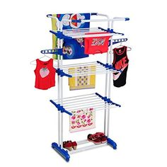TNC LIFE TIME USE CLOTH DRYING DRYER STAND RACKS WITH LAUNDRY AND 6 PS HANGER FREE @ WHOLESALE PRICE FROM MANUFACTURER ( MADE IN INDIA): Amazon.in: Home & Kitchen