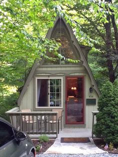 Riverwood Chalet - circa 1973, an A-Frame on the Middle Fork of the New River: Solar-Power Envy | Tiny Homes