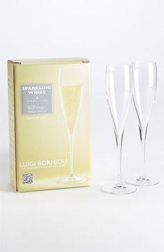 Luigi Bormioli 'Wine Profiles Sparkling Wines' Wine Glasses (Set of 2) available at #Nordstrom