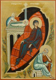 The Nativity of Christ by Olga Shalamova