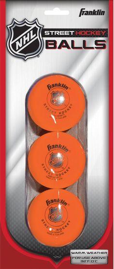 Franklin NHL Hi Density Street Hockey Balls – 3 Pack 3bc6969ff
