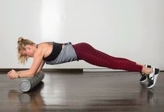 12. Sawing Plank #foamroller #strength #moves http://greatist.com/move/foam-roller-exercises-the-best-moves-for-strength