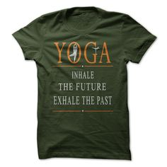 View images & photos of Yoga: inhale the future t-shirts & hoodies