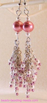 See how to make these Gorgeous #Seed Bead Earrings!