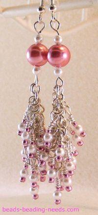 Seed Bead Earrings Tutorial