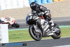 Moto2: Nakagami domina 1º dia de testes em Jerez e Miguel Oliveira é 8º
