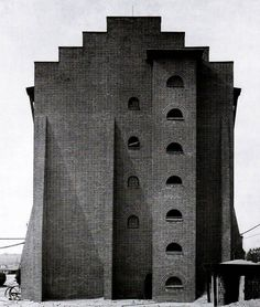 Hans Poelzig. Factory in Luban, Poland, 1911-1912