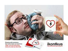 Ikonikus: Feeling Pain / Dolor... Jugar con las emociones nunca ha sido tan divertido Playing with emotions has never been so much fun BrainPicnic.com Ikonikus.com