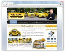 Taksi durakları için kısa sürede hazır Taksi Durağı Web Sitesi Tasarımı.