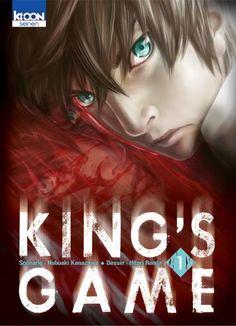 King's Game, tome 1 Nobuaki Kanazawa et Hitori Renda Kanazawa, 1 Kings, Kings Game, Hiroshima, Jean Mermoz, Roman, T Games, Manga News, Japanese Cartoon