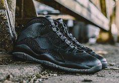 Air Jordan 10 2016 Retro OVO Black (DEADSTOCK, Size 8)
