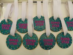 Gymnast Super Star Medal Cookies by ruthiescookies on Etsy, $60.00