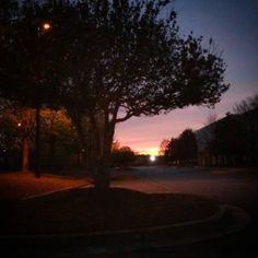 Sunset. #Godsartwork