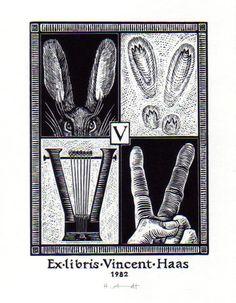 ex libris vincent haas - helmut arndt