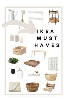 My Living Room, Living Room Decor, Ikea Bedroom Decor, Home And Living, Ikea Must Haves, Ikea Home, Farmhouse Furniture, Diy Furniture, Home Design