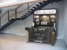 Mini Cafe, Coffee Shop Design, Popcorn Maker, Kitchen Appliances, Kiosk, Home Decor, Ideas, Cafeteria Design, Diy Kitchen Appliances