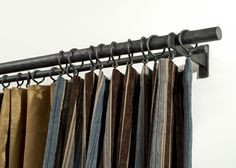 Coco Doublle Curtain Rods