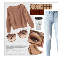 """""""Coffee ☕️"""" by amaricooke ❤ liked on Polyvore featuring Chloé, rag & bone, contest and CoffeeDate"""