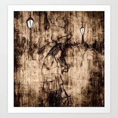 The Dark Nights Are Drawing In Art Print