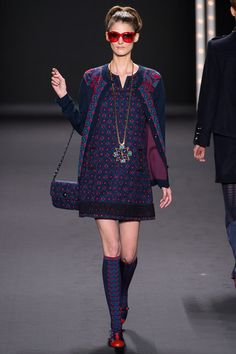 Anna Sui - Fall 2013 Ready-to-Wear