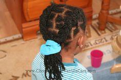 Dutch Braided Yarn Twist Extensions   Chocolate Hair / Vanilla Care