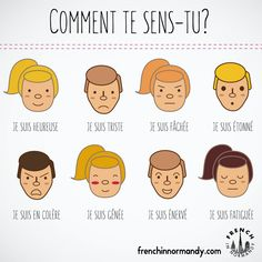 Today's lesson asks you how you feel, in French. Follow the blog and learn French with these short lessons. Comment te sens-tu; comment vous sentez-vous?  How(...)
