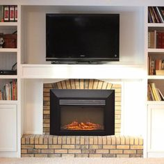 Plans For Building A Book Shelf Around A Fireplace In 2018