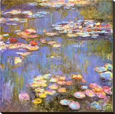 Water lillies - Claude Monet