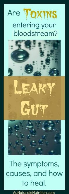Leaky Gut Syndrome is also called Increased Intestinal Permeability. It is a common condition among both adults and children today.  Could YOU Have a Leaky Gut? The symptoms, causes, and how to heal.