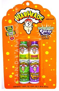 Warheads Extreme Candy Spray