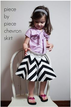 chevron skirt (1)