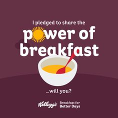 I pledged to share the #PowerOfBreakfast - will you? @Kelleigh Chung