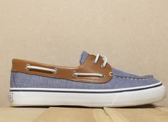 Sperry Bahama 2 Eye Chambray navy shoes