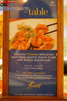 @*~ OnTcU ~*@: Chinese Buffet Wednesday Night at Feast