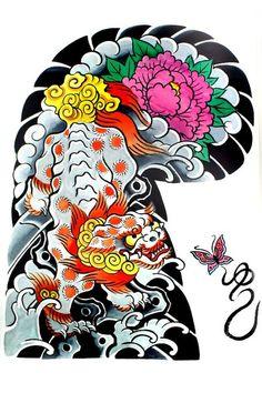 "Garyou Tensei. 108 Japanese tattoo sleeve designs by Yushi ""Hori   109 photos   VK"