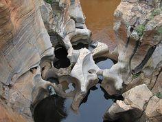 Bourke's Luck Potholes, Blyde River, South Africa