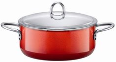 Silit  Passion  412Quart Low Casserole with Lid Energy Red *** You can find out more details at the link of the image.