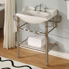 Empire Industries For Oxford Open Shelf Console Vanity Modern Bathroom Vanities And Sink Consoles